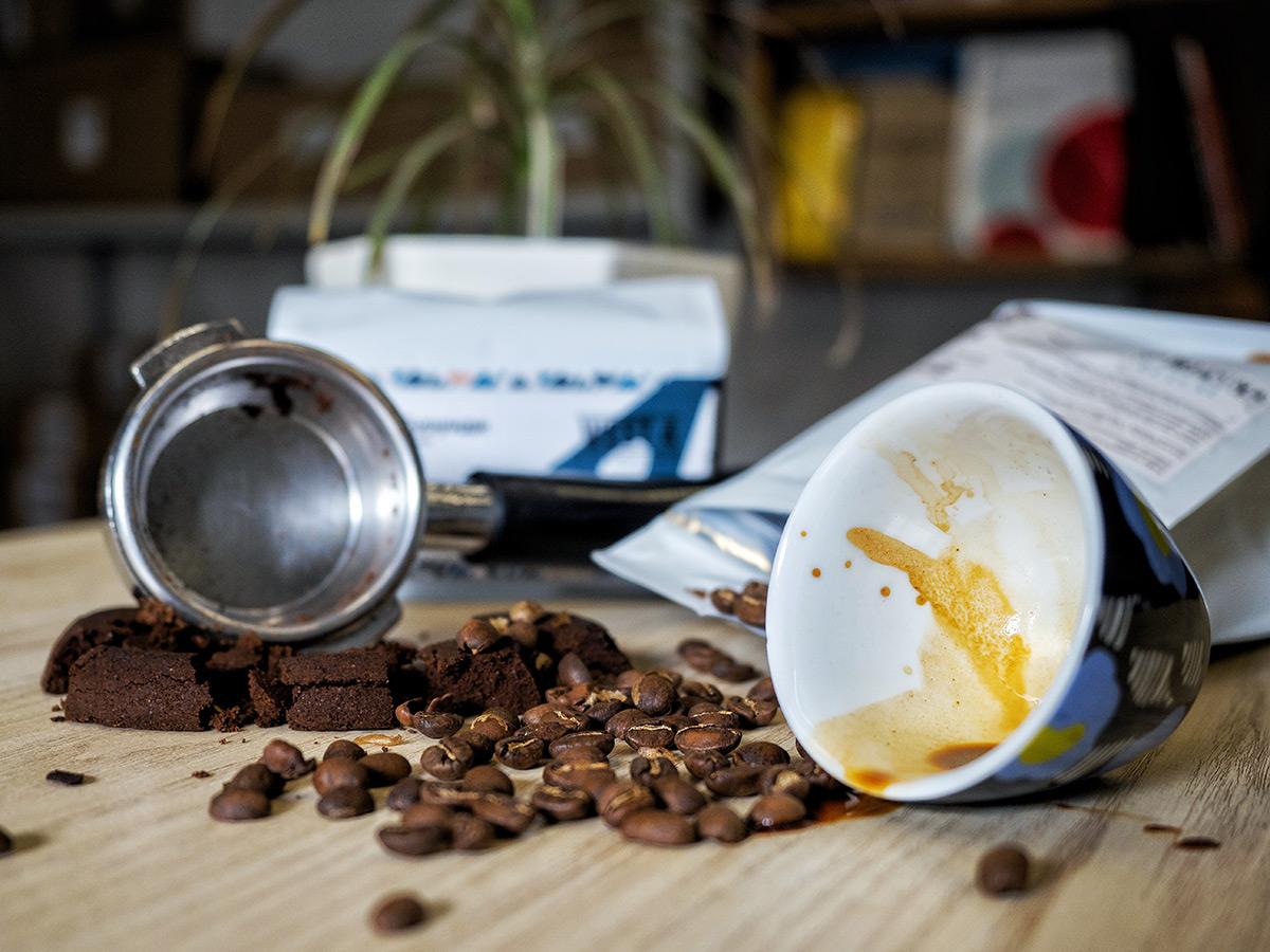 Зависимость помола и пролива кофе
