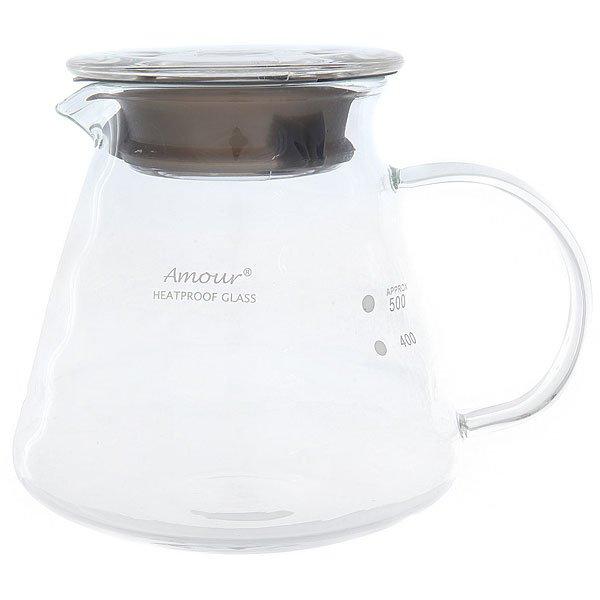 Чайник сервировочный жаропрочный Tiamo 2219 CafeDeAmour 0.6 л