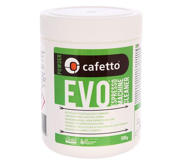 Cafetto Evo Powder средство для чистки кофемашин органик 500 гр
