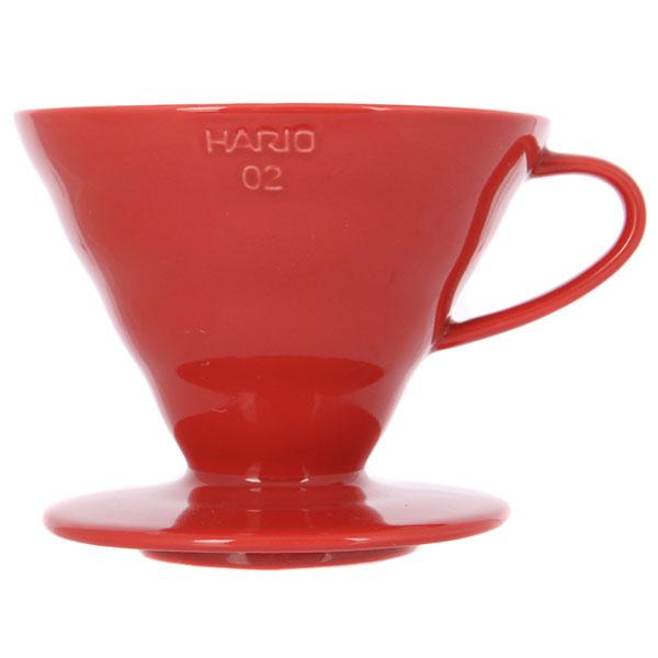 Воронка Hario Керамическая Красная